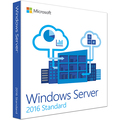 マイクロソフト Windows Server Standard 2016 64Bit DVD 10Client 1本
