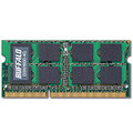 バッファロー PC3-12800 DDR3-1600MHz 204Pin SDRAM S.O.DIMM 4GB D3N1600-4G 1枚
