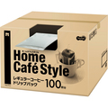TANOSEE Home Cafe Style ドリップパック 6.5g 1箱(100袋)